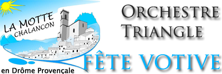 Orchestre Triangle - spectacle fête votive