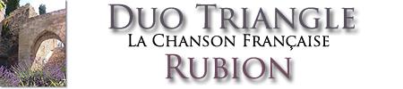 Duo Triangle - La Chanson Française