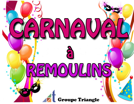 Animations enfant - Carnaval à Remoulins - Groupe Triangle