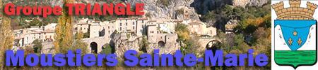 Groupe variétés Triangle Nimes à Moustiers Sainte-Marie