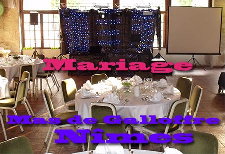 DJ Triangle - animation mariage