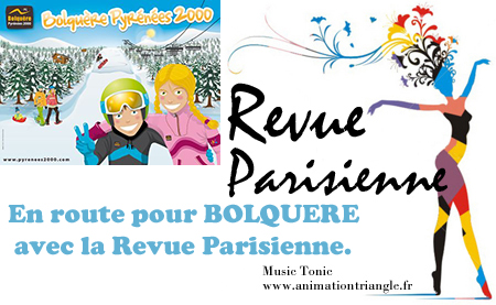 Revue Parisienne - Animationtriangle Nimes