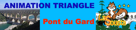 Groupe Triangle - animations