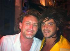 Jean-Paul Rouve et Alexandre Lemaitre ou QG MoGito Bar