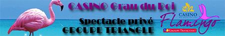 Groupe Triangle - orchestre variete ou Casino Grau du Roi
