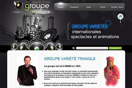 Groupe variété Triangle