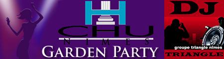 Animation et DJ Triangle - Garden Party à Nîmes