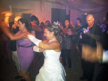 DJ Triangle animation mariage