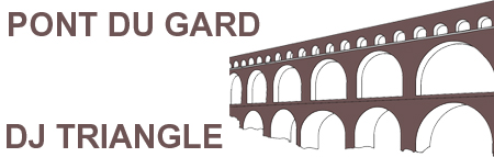 Animation mariage à Pont du Gard - DJ Triangle