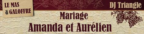 Dj Triangle animation mariage à Mas de Galoffre Nîmes