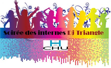 Dj Triangle animation soirée étudiante Internat CHU Montpellier