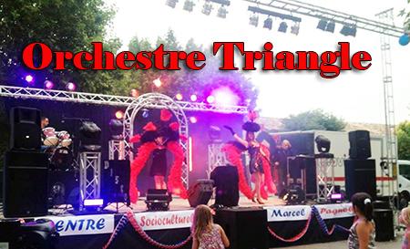 Orchestre variétés Triangle à Vergèze