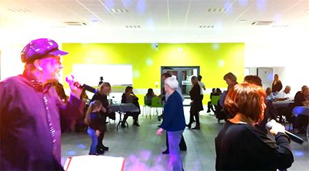 Soirée Musette, Transformiste et DJ à Bernis avec Animation Triangle