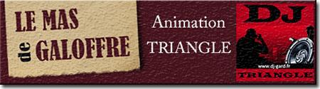 Animation mariage à Mas de Galoffre Nîmes - DJ Triangle Gard