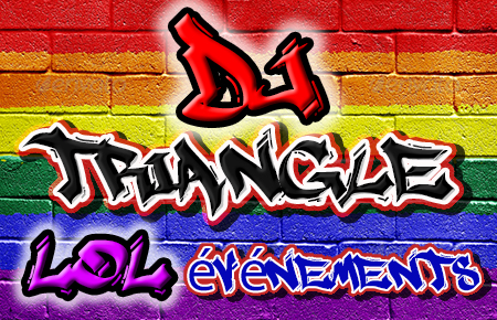 Soirée LGBT friendly ou Graffiti à Domazan Animation Triangle et LOL événéments