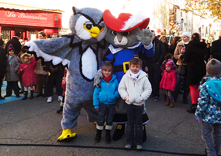 Spectacle et animations enfants Le monde de Triland en extérieur  à Manduel marchés de Noël