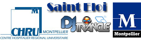 Soirée Internat CHU Saint Eloi Montpellier DJ Triangle