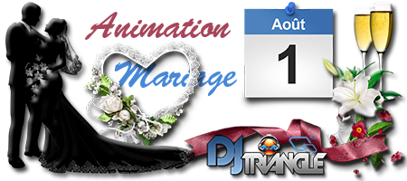 Mariage au Moulin Gazey de Nimes animation DJ Triangle