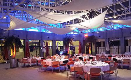 Animation soirée à l'hôtel Novotel Atria Nîmes pour Ferrero Rocher DJ Triangle