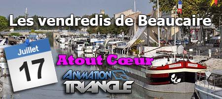 Les vendredis de Beaucaire avec Patricia Atout cœur et Animation Triangle pour une soirée Karaoké.