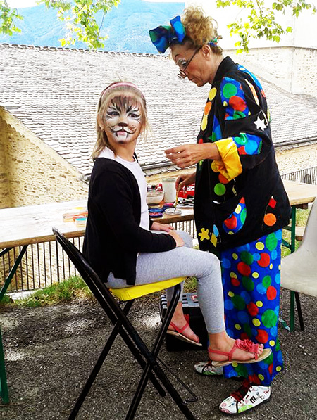 Maquillages enfants - Groupe Triangle Nimes