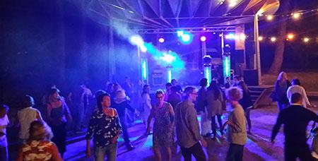 DJ Triangle animation à Cornillon pour fête de la Musique