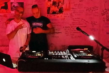 DJ Triangle à Montpellier pour la soirée internat La Fournierais