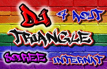 DJ Triangle à Montpellier pour la soirée internat La Fournieraise