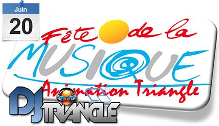 DJ Triangle à Cornillon pour fête de la Musique