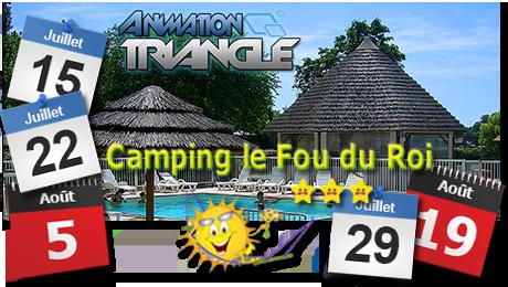 Les animations camping dans le 34 avec DJ Triangle