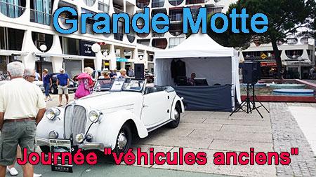 Grande Motte animation journée véhicules anciens