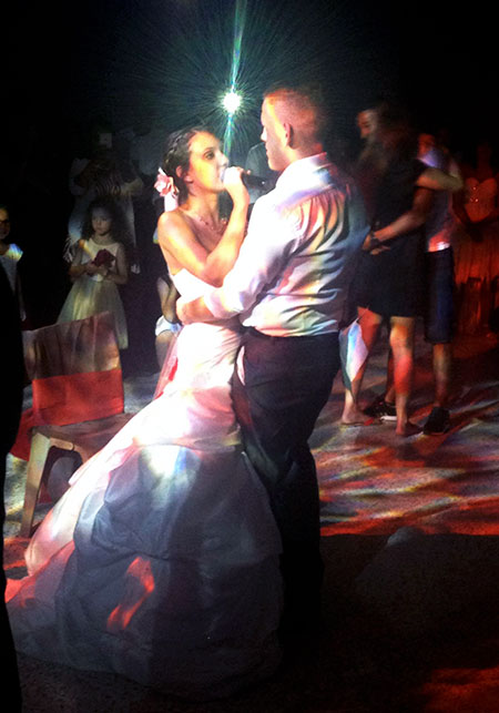 Mariage de Yolaine et de Greg à Barbentane animation DJ Triangle