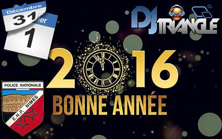 DJ Triangle à l'école de Police de Nimes pour l'animation du grand repas de fin d'année