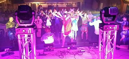 Grande soirée au Gymnase de Rodilhan sur le thème du Carnaval avec DJ Triangle Nîmes