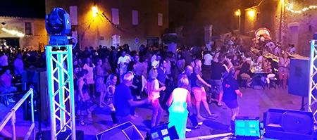 Fête votive à Salazac avec Groupe Triangle et DJ Triangle