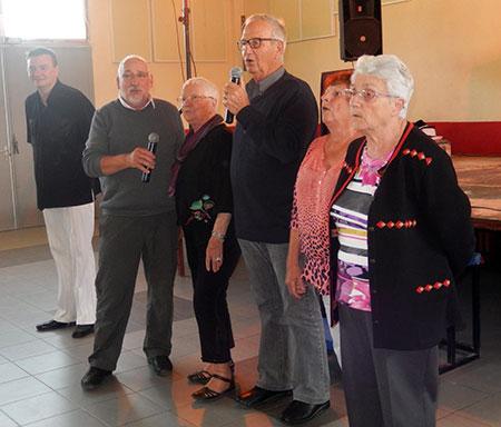 Commémoration du 8 mai 1945 - Après midi dansant des anciens combattants à Saussines - Animation Triangle Nîmes