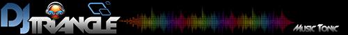 Logo animation DJ Triangle Nimes Gard