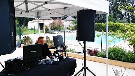 Le baptême des jumeaux à Saint Gilles - animation DJ Triangle