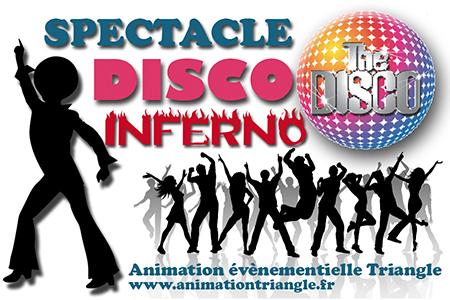 Spectacle chanté soirée Disco Animation Triangle