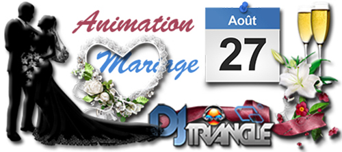 Animation mariage à Saint Gilles - DJ Triangle