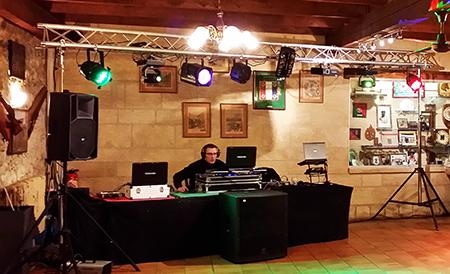 DJ Triangle - soirée à la légion Étrangère Nîmes