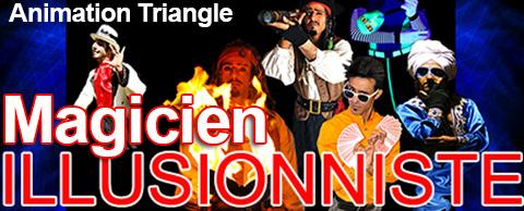 Animation Triangle coté de Lunel pour une spectacle enfant après midi avec Magicien pirate