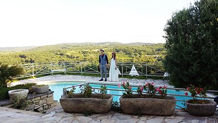 Mariage du coté de ST Christol de Rodières avec Dj Triangle