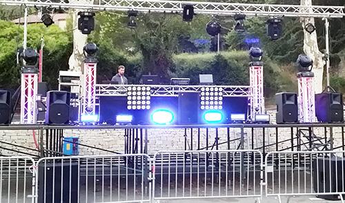 Fête votive coté de Montpellier avec DJ Triangle