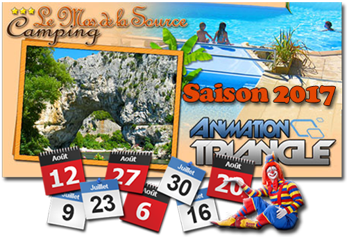 Animations campings, DJ, duo chanteurs, spectacles enfants, jeux, Groupe Triangle Nîmes.