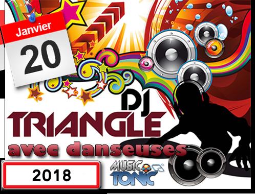 DJ Triangle animation fête votive avec danseuses coté de Pézenas.