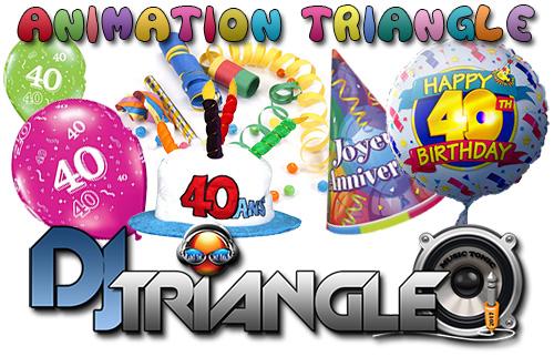 DJ Triangle animation anniversaire sur Arles.