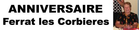 Anniversaire  à Ferrat les Corbières aves Dj Triangle Nimes - Gard