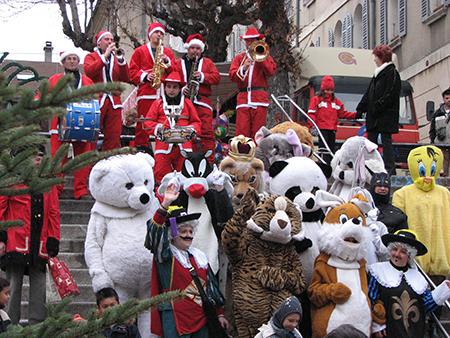 Groupe Triangle et Comité des fêtes de Gap - animation Noël
